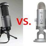 Blue Yeti vs Audio-Technica AT2020